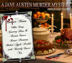 Download a printable MURDER MYSTERY PARTY GAME now, Titanic, Alice in Wonderland.. » 6-Austen