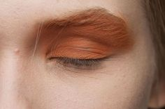 Makeup Ideas: Dries Van Noten at Paris Fall 2012 (Backstage)