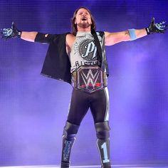 wwe WANTS his with at All he has to do is go through five other men at Wrestling Rules, Aj Styles Wwe, Wwe Action Figures, Wwe Tna, Wwe Wallpapers, Wwe Champions, Yesterday And Today, Wwe Superstars, Fashion Pictures