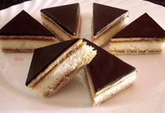Kókuszos mézes Good Food, Yummy Food, Winter Food, Sweet Life, Salmon Recipes, Nutella, Food To Make, Cheesecake, Food And Drink