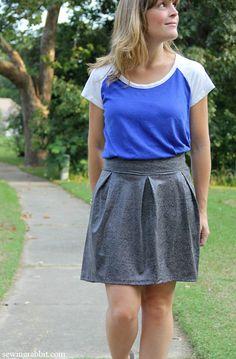 Skirt-A-Day Sewing  || Craft Buds Book Hop  ||  sewingrabbit.com