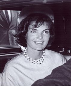 """""""Jackie was always an odd mixture of tomboy and princess.  She never outgrew the princess role."""" — Edie Beale, Jackie's cousin (of 'Grey Gardens' fame)"""