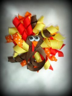 turkey hair bow#Repin By:Pinterest++ for iPad#