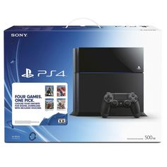 500GB PlayStation 4 with Free Game Voucher