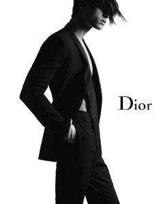 Baptiste Giabiconi by Karl Lagerfeld for Dior Homme Spring Summer 2011 Fashion Identity, Fashion Advertising, Workout Hairstyles, Fashion Images, Fashion Books, Karl Lagerfeld, Fashion Prints, Editorial Fashion, Fashion Beauty