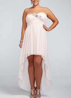 Strapless Chiffon High Low Dress with Beading Blush David's Bridal,http://www.amazon.com/dp/B00EO2ABC2/ref=cm_sw_r_pi_dp_ElMSsb0JW6DPK1X9