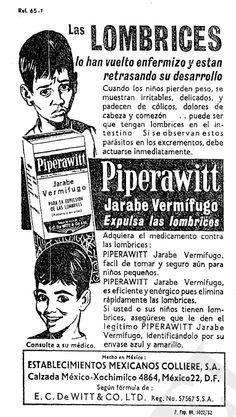1966 - Anuncio de Piperawitt - Anuncio publicado en el Informador Guadalajara, Jalisco México