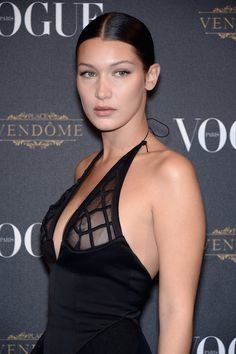 Bella Hadid | Four stars who helped turn a nipple piercing into the year's top beauty statement.