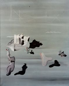 History of Art: Yves Tanguy Yves Tanguy, Surrealism Painting, Weird Pictures, Cool Paintings, Surreal Art, Abstract Expressionism, All Art, Les Oeuvres, Painting & Drawing