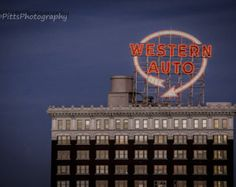 The Western Auto Building, a Kansas City Landmark, Fine Art Photography by Pitts Photography