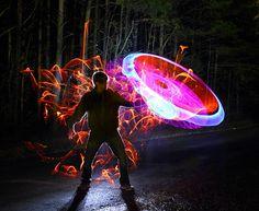 Light painting photography: Dennis Calvert, the best - Blog of Francesco Mugnai