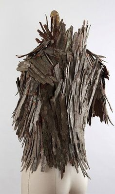 faerie_fashion | outrageous!!!!!!!!!!!!!!!!! Made of tree bark--