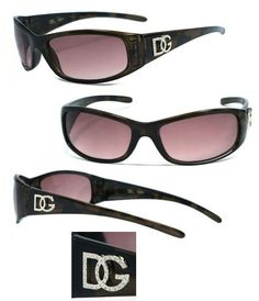 941a695fa6f Discounted Women DG Sunglasses w  Free Pouch - Tortoise Frame  Brown Lens