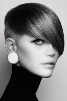 Fringe Hairstyles, Modern Hairstyles, Pixie Hairstyles, Pixie Haircut, Cool Hairstyles, Asian Hairstyles, Modern Haircuts, Hairstyles 2016, Funky Pixie Cut
