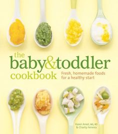 Baby/Toddler Cookbook