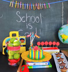 back to school party - do you have a back to school ritual/tradition?