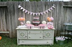 Tea Cups and Tutus Themed Birthday Party