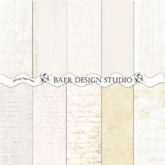 White Wood, Brick, Burlap DIGITAL PAPER 12x12 printable paper -  Weddings, Graduation Cards, Scrapbooking, Photo Cards, Blogs, Wallpaper