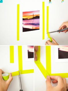 washi tape frames - Google Search