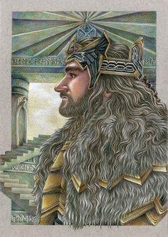 ¡Soy Thorin hijo de Thrain hijo de Thror, Rey bajo la Montaña! ¡He regresado!
