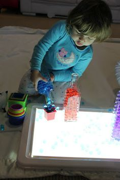1000 Images About Garderie Activit S Table Lumineuse On Pinterest Light Table Light Panel