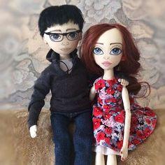 ❤💑 😊  #текстильнаякукла #интерьернаякукла #куклаизткани #ручнаяработа #handmade