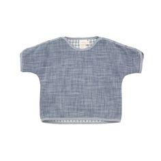 willaby - reversible dolman / indigo cloth