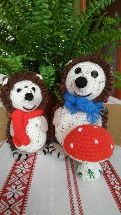 crochet hedgehog