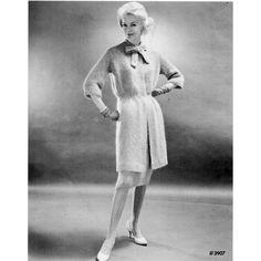 Vintage Walking Suit Knitting Pattern