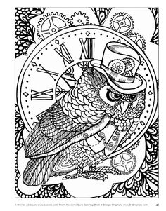 BrightBird Free Adult Coloring Pages
