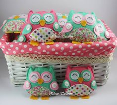 keçe, keçe magnet, baykuş, owl, felt, bebek şekeri, keçe bebek şekeri, doğum günü, doğum, bebek mevlüdü