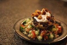 Jenessa's Dinners: Mediterranean Turkey Burger