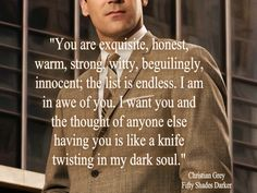 Quotes From 50 Shades Of Grey Glamorous 50 Shades Of Grey' In 15 Naughty Quotes  Pinterest  Fifty Shades .