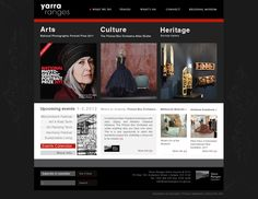 January 2012: Web design for Yarra Ranges by eris32