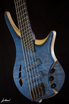 Jillard Guitars - Custom Armada Fan Fret Bass Guitar
