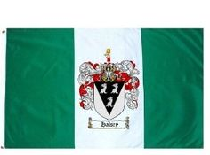 $49.99 Halsey Family Crest / Coat of Arms Flag. Large 3 ft. x 5 ft. polyester flags.