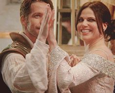 Day 8. Favorite couple. Outlaw Queen. My OTP is CaptainSwan but since there's a prompt specifically about it, my other favorite is Outlaw Queen. Robin loves Regina knowing about her past and he tries to teach her that she deserves happiness.
