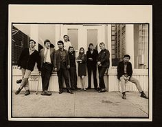 Citation: Artists of Park Place Gallery, ca. 1967-1968 / unidentified photographer. Park Place, The Gallery of Art Research, Inc., and Paula Cooper Gallery records, Archives of American Art, Smithsonian Institution.