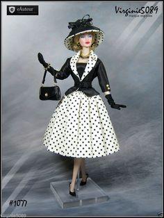 Tenue Outfit Accessoires Pour Fashion Royalty Barbie Silkstone Vintage 1077   eBay