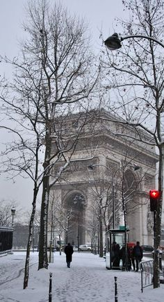 Arc de Triomphe - Párizs, Franciaország