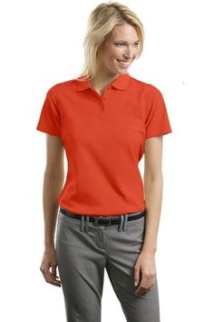 cbbf36804f5 Port Authority Women's Stain Resistant Polo at Amazon Women's Clothing store:  Polo Shirts