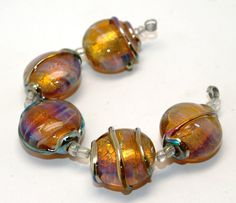 Pearly Karpel Lampwork Beads 5 SRA Mode to by pearlykarpelgift