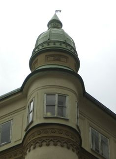 Turret at former Reichenberg, now Liberec, in the Czech Republic. http://www.annettegendler.com/2012_09_01_archive.html