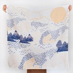 Furoshiki Wrapping Cloth - LINK x Leah Duncan {Mountain Blossom} | UGUiSU Online Store