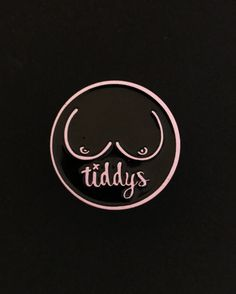 Tiddy's pin from @thetiddys  Appreciate and love them!  Buy it through their link in bio!