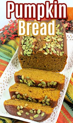 Starbucks Pumpkin Bread Recipe - mom makes dinner Starbucks Pumpkin Bread, Pumpkin Scones, Easy Homemade Recipes, Homemade Butter, Best Dessert Recipes, Easy Desserts, Dessert Ideas, Dinner Recipes, Best Comfort Food