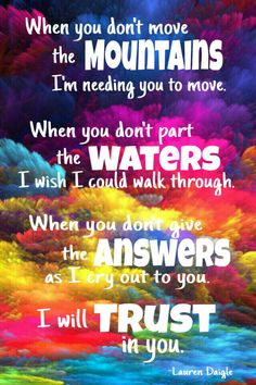 Trust in you By Lauren Daigle   #christianquotes