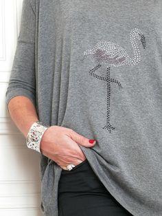 DIY: Le tee-shirt au flamand rose