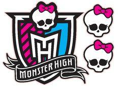 Logo de crête élevée de Monster Qu'amovible par KewlWallStickers