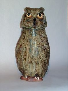 moose hollow pottery - mama owl - Google Search